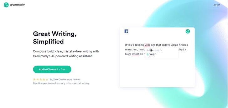 Grammarly、添削サイト